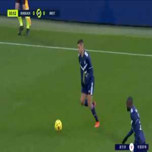 Bordeaux 1-0 Brest - Hatem Ben Arfa 84'