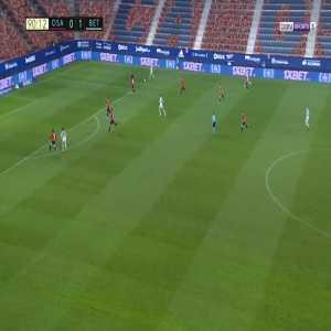 Osasuna 0-2 Betis - Juan Miranda 90'+1'