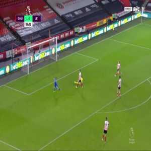 Sheffield Utd 1 - [2] Leicester - Jamie Vardy 90'