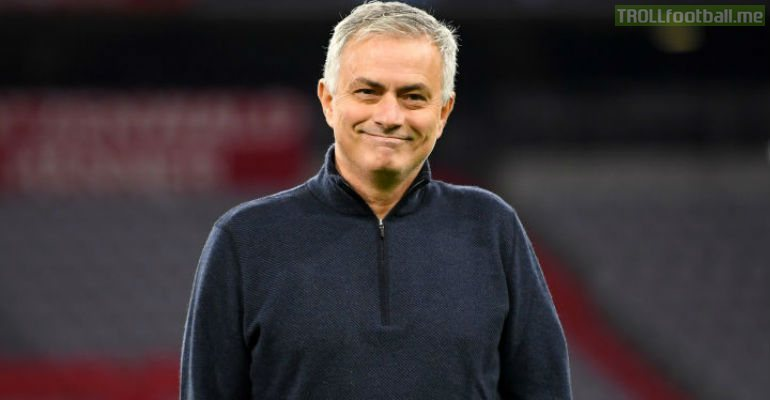 """""""I admire Arteta a lot, he's a great coach. It is no surprise he learned from Pep. Unfortunately they both have lost 2-0 to my Spurs."""" - Jose Mourinho"""