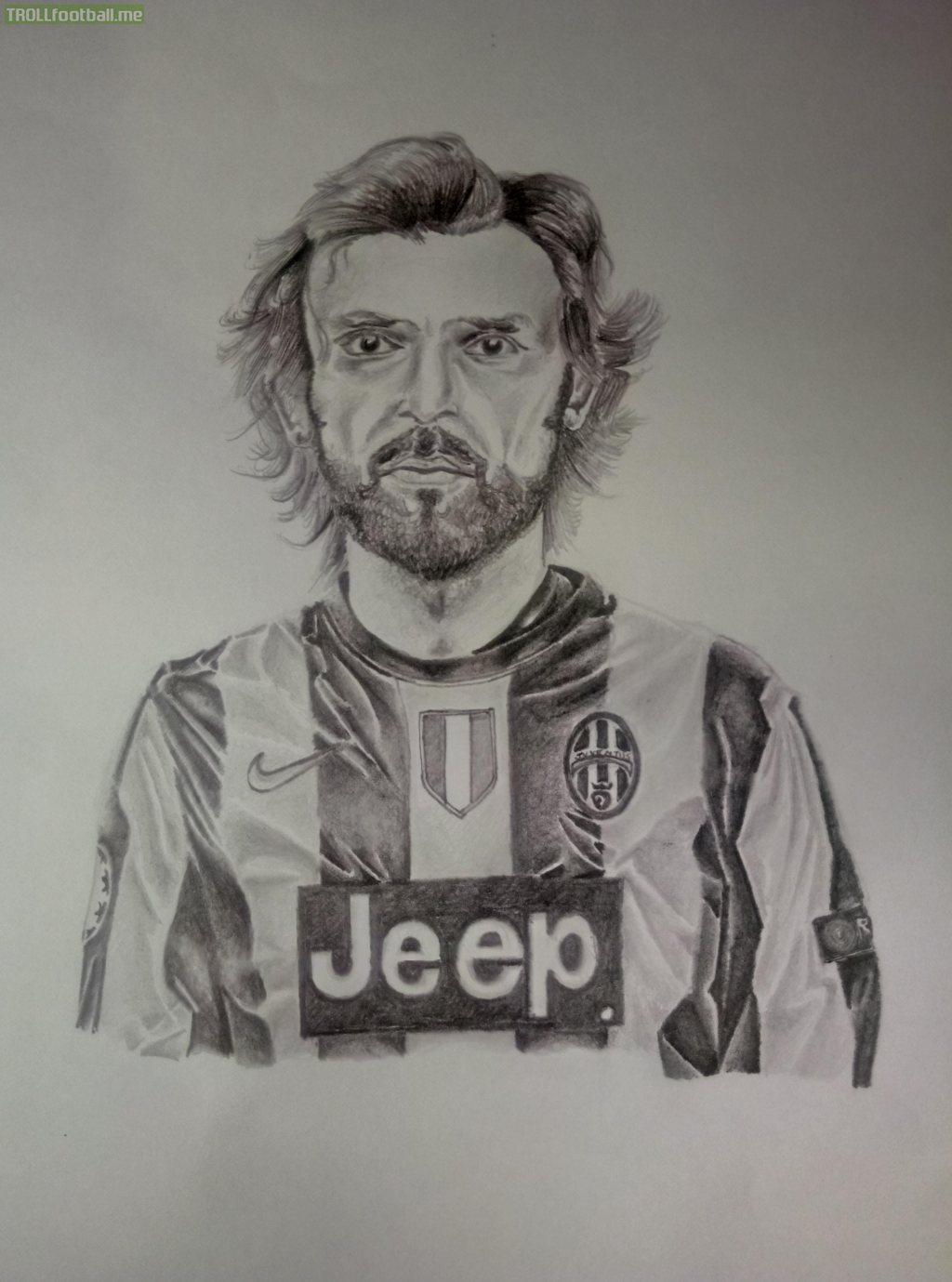 I drew Andrea Pirlo