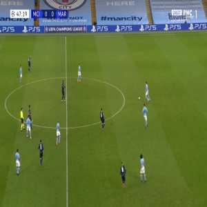 Manchester City 1-0 Marseille - Ferran Torres 48'