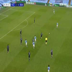 Manchester City 3-0 Marseille - Raheem Sterling 90'