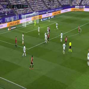 Real Valladolid 1-[2] Osasuna - Roberto Torres 43'