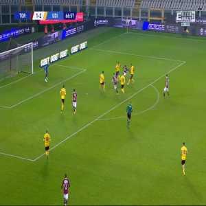 Torino [2]-2 Udinese - Federico Bonazzoli 67'