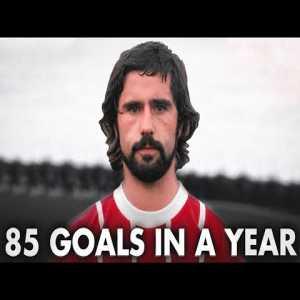 A historical analysis of Gerd Muller's career and goal scoring exploits