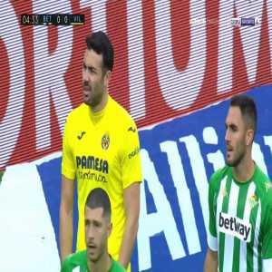 Betis 0-1 Villarreal - Pau Francisco Torres 5'