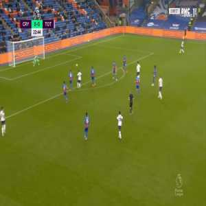 Crystal Palace 0 - [1] Tottenham - Harry Kane 23'