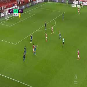 Arsenal [1] - 1 Southampton - Aubameyang 52'