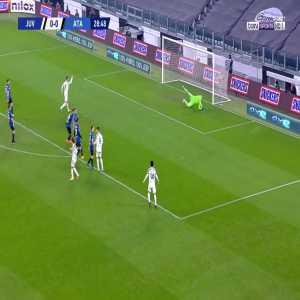 Juventus [1] - 0 Atalanta - Federico Chiesa 29' (Nice Goal)