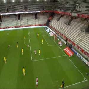 Reims [1]-1 Nantes - El Bilal Toure 68'