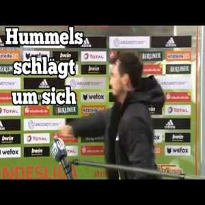 Mats Hummels visibly unhappy with Dortmund loss against Union Berlin