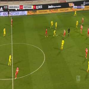 Union Berlin 1 - [1] Borussia Dortmund - Youssoufa Moukoko 60'