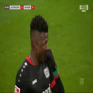 Bayer Leverkusen 1-[1] Bayern München - Robert Lewandowski 43'