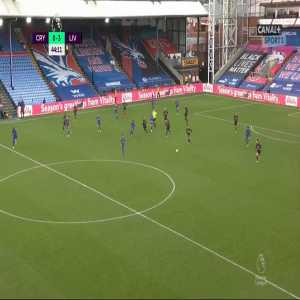 Crystal Palace 0-3 Liverpool - Roberto Firmino 44'