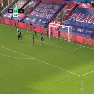 Crystal Palace 0 - [5] Liverpool - Roberto Firmino 68'
