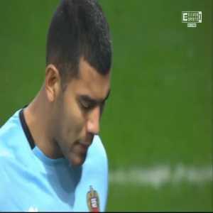 Nice 0-1 Lyon - Memphis Depay PK 32'