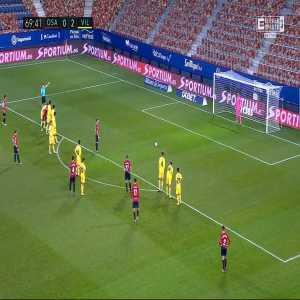 Osasuna [1]-2 Villarreal - Roberto Torres PK 70'