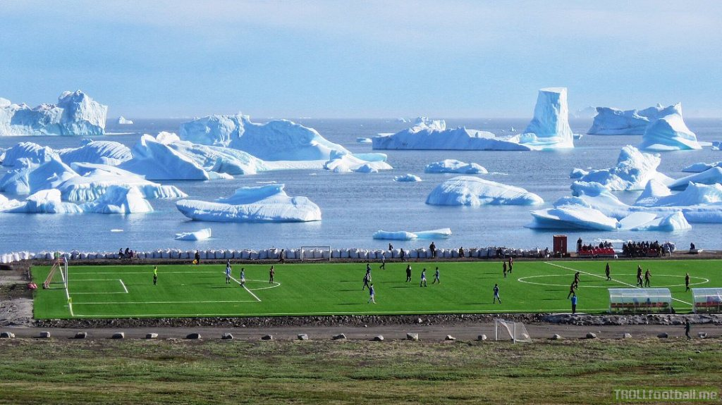 Football in Greenland