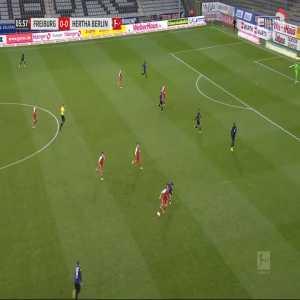 Freiburg 1-0 Hertha - Vincenzo Grifo 7'