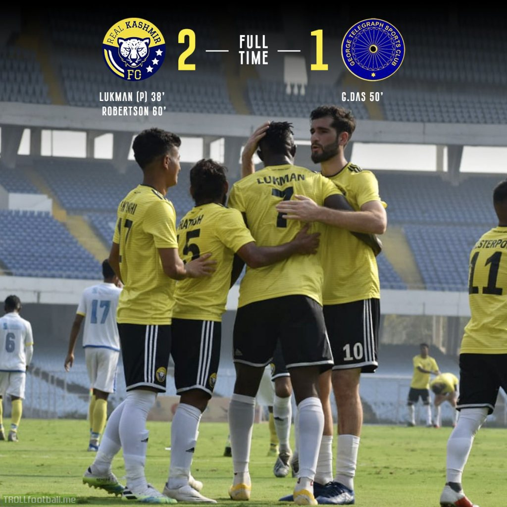 Real Kashmir FC beat George Telegraph SC to win the IFA Shield 2020 (World's fourth oldest football competition). They become the 1st club from Jammu & Kashmir, India; to win a major national-level cup tournament. The Snow Leopards are growing at a rapid pace.