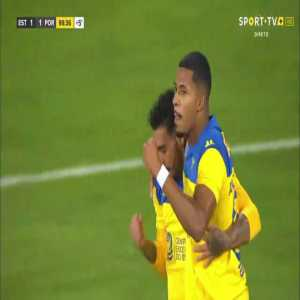 Estoril 1-1 Porto II | André Clovis 100' | Wrongly scored penalty led to a riot in the last minutes.