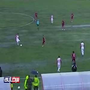 The absolutely horrible pitch conditions in a PGPL (Iranian top division) match from the past weekend