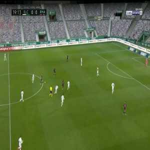 Elche 0-1 Real Madrid: Luka Modric goal 20'