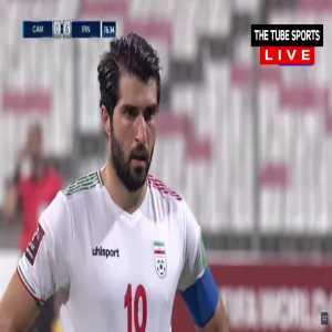 Cambodia 0-7 Iran - Karim Ansarifard penalty 77'