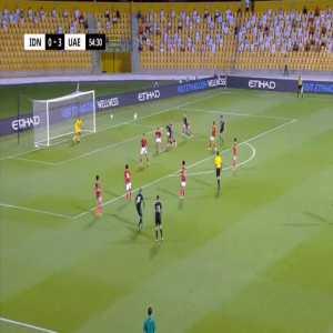 Indonesia 0-4 United Arab Emirates - Fabio Lima 55'