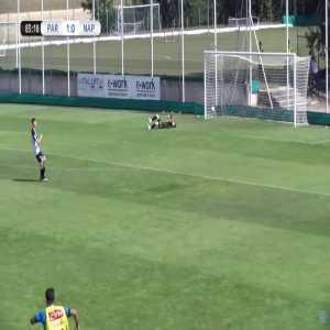 Parma Primavera 1-[1] Napoli Primavera - Valerio Labriola (great goal) 83'