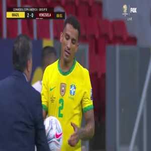 Brazil 3-0 Venezuela: Gabriel Barbosa goal 89' [2020 Copa America]