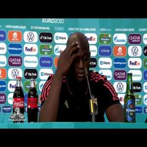 """Romelu Lukaku Reaction To Eriksen Incident: """"It was tough for me to get my mind together"""""""