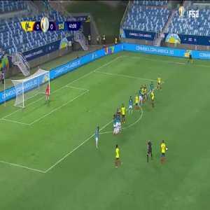 Colombia 1-0 Ecuador: Edwin Cardona goal 42' [2020 Copa America]