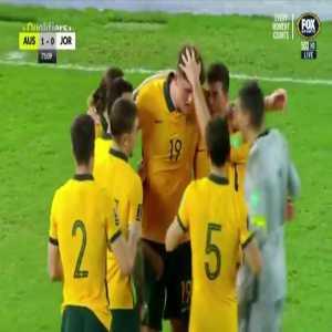 Australia 1-0 Jordan - Harry Souttar 75'