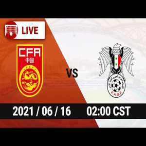 LIVE China vs Syria - AFC World Cup Qualifier