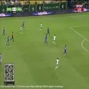 Saudi Arabia 1-0 Uzbekistan - Salman Al-Faraj 25'