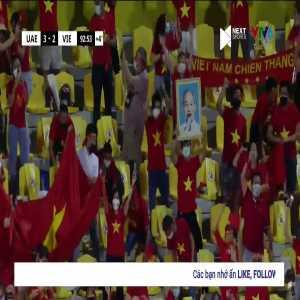 UAE 3-2 Vietnam - Minh Vuong 90'+3