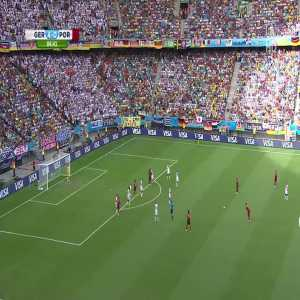 7 years ago today, Cristiano Ronaldos Freekick vs One-Man-Wall Philipp Lahm at the 2014 World Cup (German Commentary)