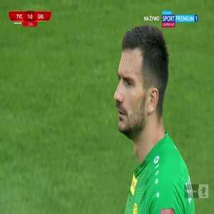 GKS Tychy 1-0 Górnik Łęczna - Kacper Piątek 3' (Polish I liga, promotion play-off semifinal)