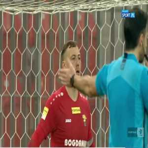 GKS Tychy vs. Górnik Łęczna - penalty shoot-out (Polish I liga, promotion play-offs semifinal)