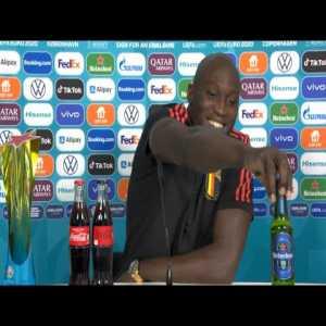 Lukaku's thoughts on Coca Cola