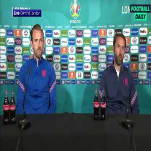 """Southgate on the Coca-Cola bottle situation: """"Without some of these companies, it would be very difficult to provide the facilities we need, particularly in grassroots. Of course we're mindful of obesity in our country but everything can be done in moderation."""""""