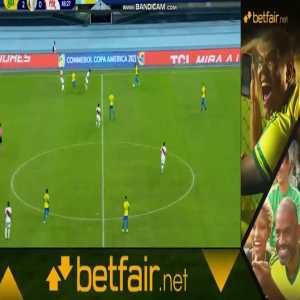 Brazil [3] - 0 Peru - Everton Ribeiro