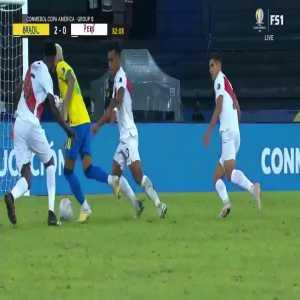 Neymar dribbling vs Peru