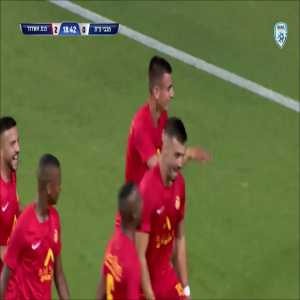 Unbelievable goal from the Israeli youth cup final (Oz Bilu)