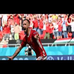 Hungarian broadcast call of the Atilla Fiola goal to put Hungary up 1-0