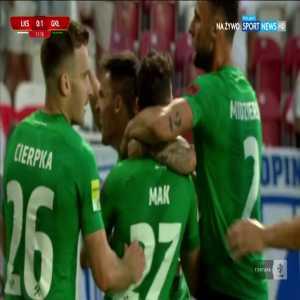 ŁKS Łódź 0-1 Górnik Łęczna - Serhiy Krykun 13' (Polish I liga, promotion play-offs final)