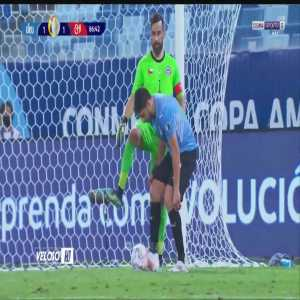 Suarez time-wasting against Chile