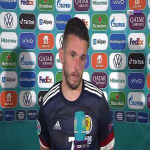 """John McGinn: """"The main difference was experience. Croatia deserved to win and deserved to progress... This isn't the end for us hopefully Scotland can be in tournaments for years to come.""""   Post-Match Interview"""